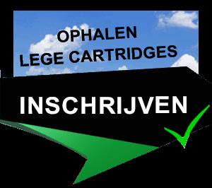 Ophalen lege inktcartridges en registreren bij Tomsonrecycle